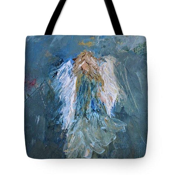 Angel Girl Tote Bag