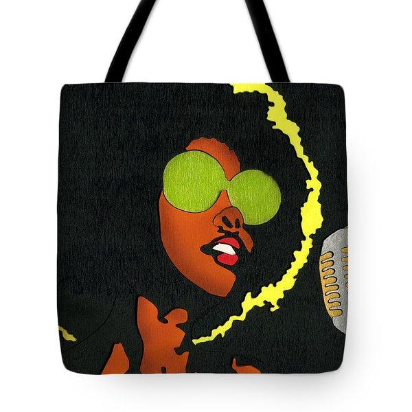Angela Sings Tote Bag