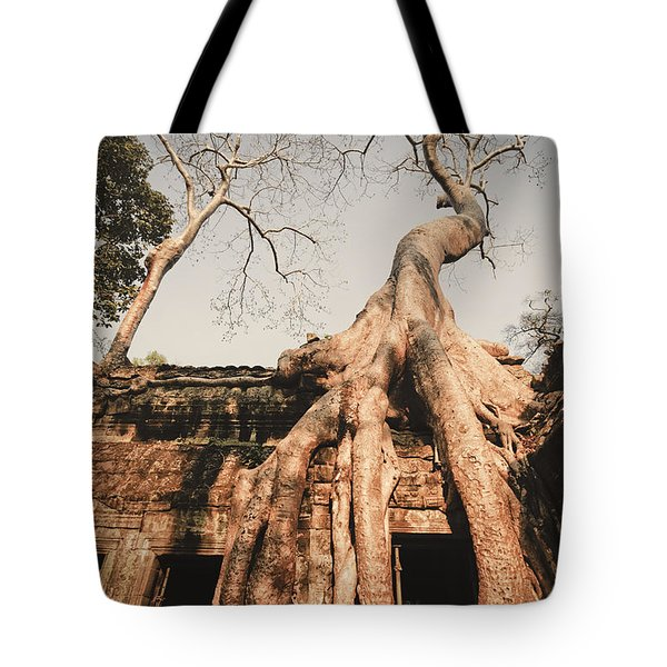 Tote Bag featuring the photograph Angkor Wat by Juergen Held