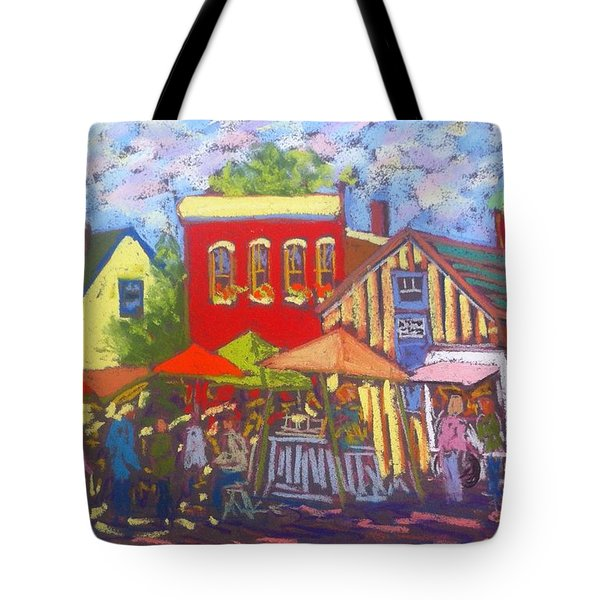 Annapolis Royal Market Tote Bag