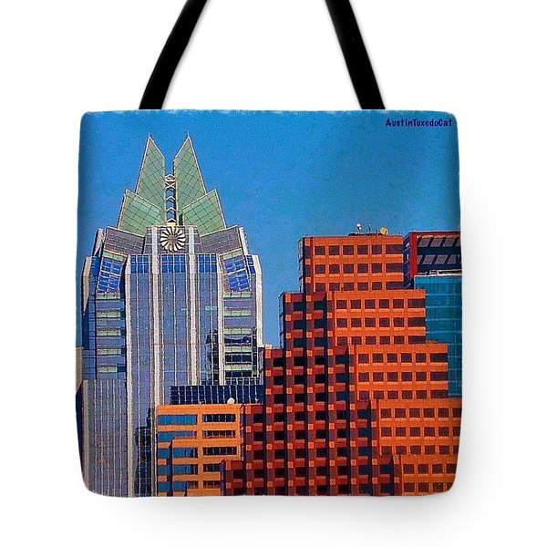 Another #gorgeous #bluesky Day In Tote Bag