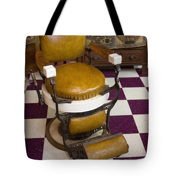 Antique Barber Chair 3 Tote Bag