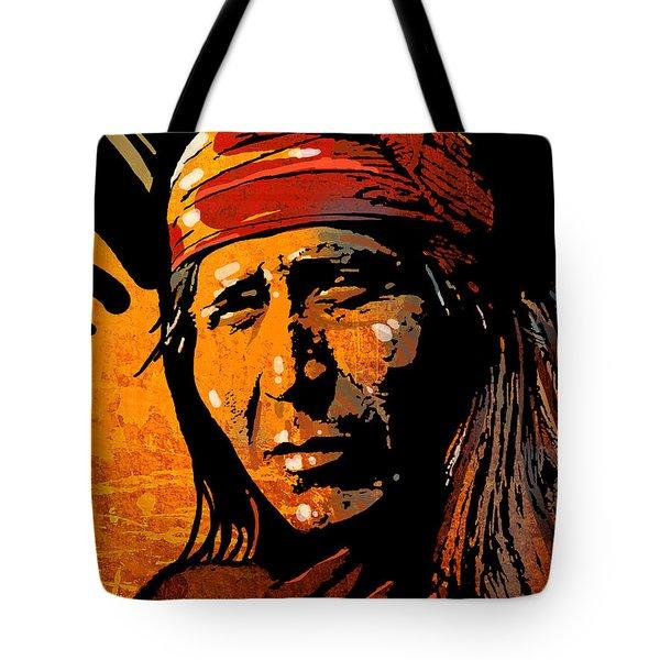 Apache Warrior Tote Bag