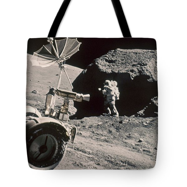 Apollo 17, December 1972: Tote Bag by Granger