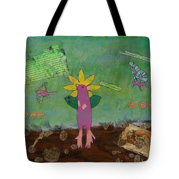 April Showers Tote Bag