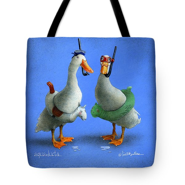 Aquaducts... Tote Bag