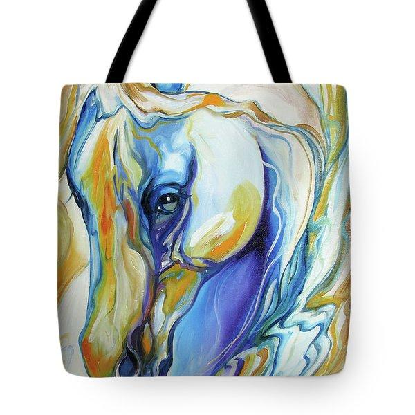 Arabian Abstract Tote Bag