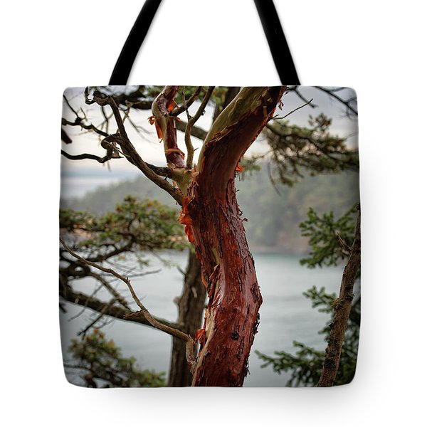 Arbutus Tree Tote Bag