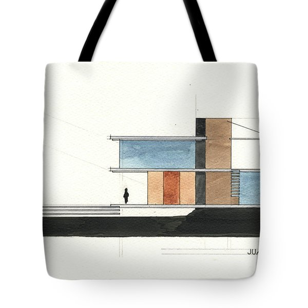 Architectural Drawing Tote Bag