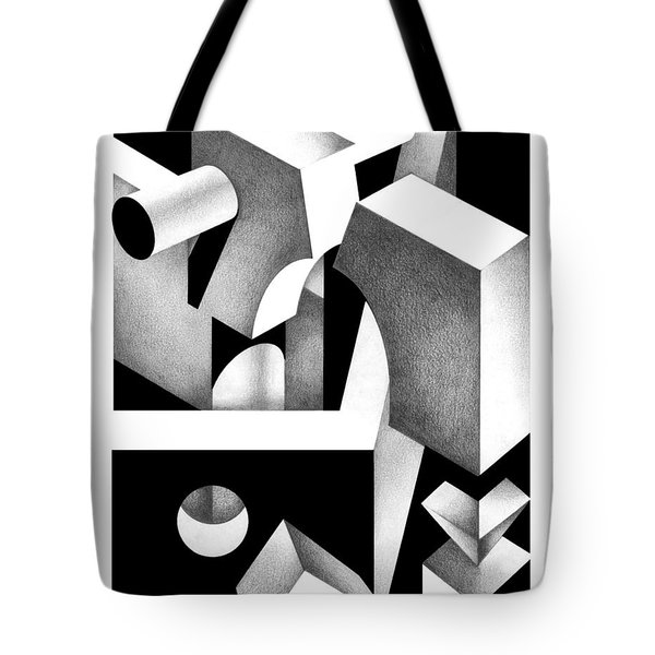 Archtectonic 8 Tote Bag