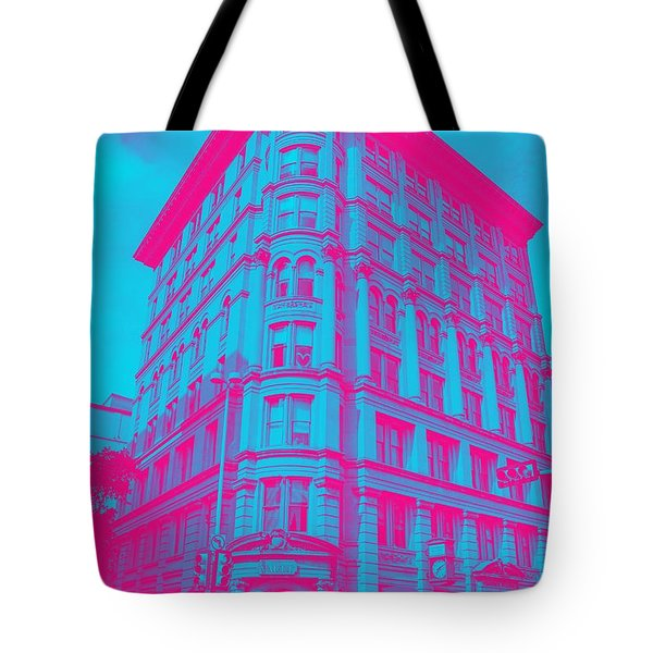 Archtectural Building Tote Bag