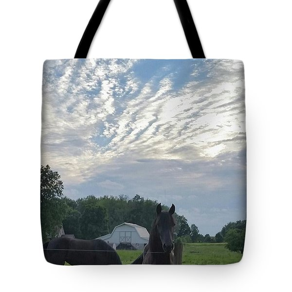 Are You Watching Me?? Tote Bag