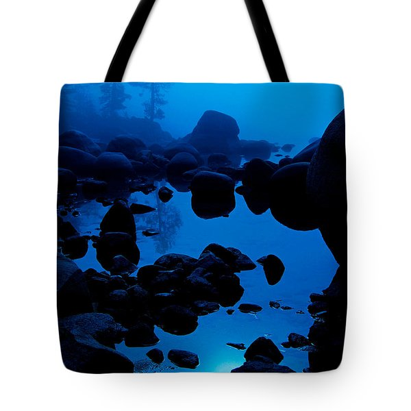 Tote Bag featuring the photograph Arise From The Fog by Sean Sarsfield