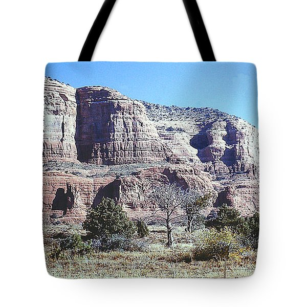 Tote Bag featuring the photograph Arizona Landscape by Merton Allen