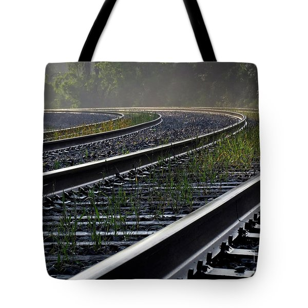 Tote Bag featuring the photograph Around The Bend by Douglas Stucky