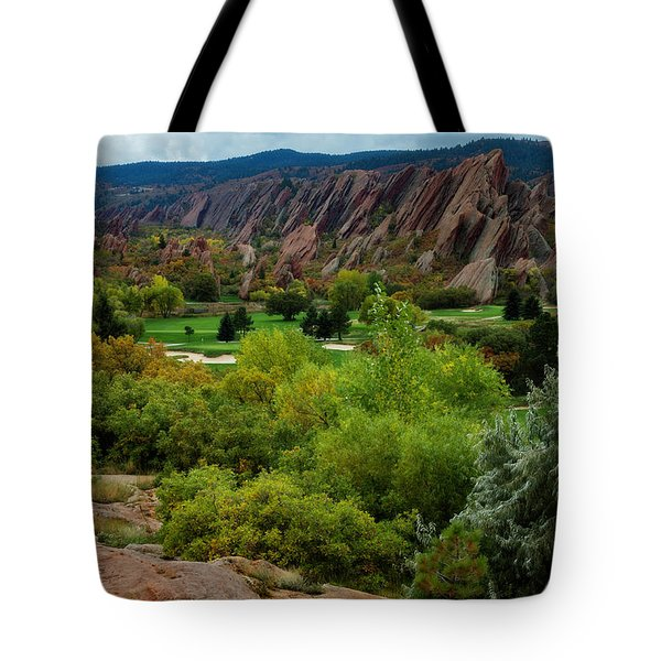 Tote Bag featuring the photograph Arrowhead by Kristal Kraft