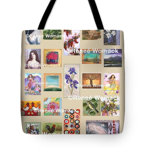Art Collection Tote Bag