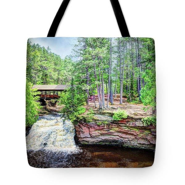 As The Water Falls Tote Bag