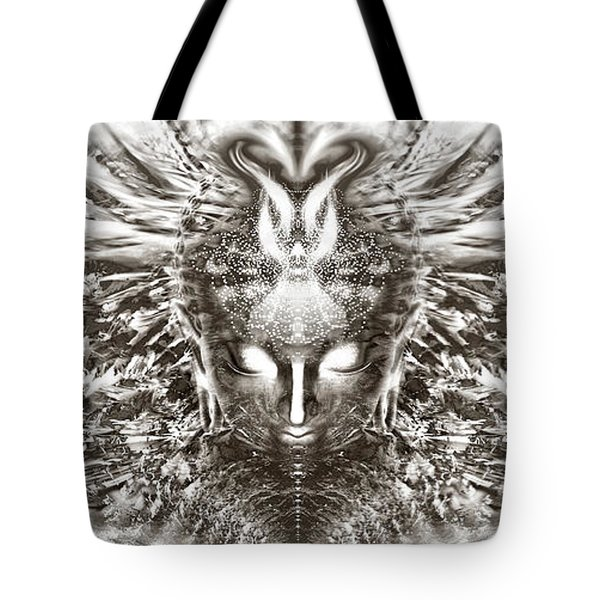 Ascended Grace Tote Bag by Jalai Lama