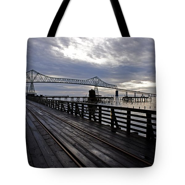 Astoria-megler Bridge 4 Tote Bag