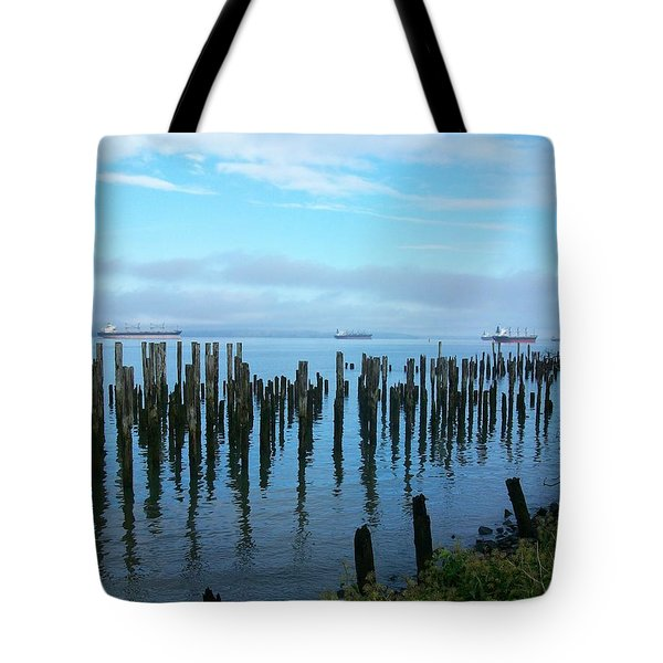 Astoria Ships II Tote Bag
