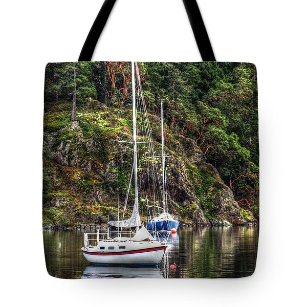 At Anchor Tote Bag by Randy Hall