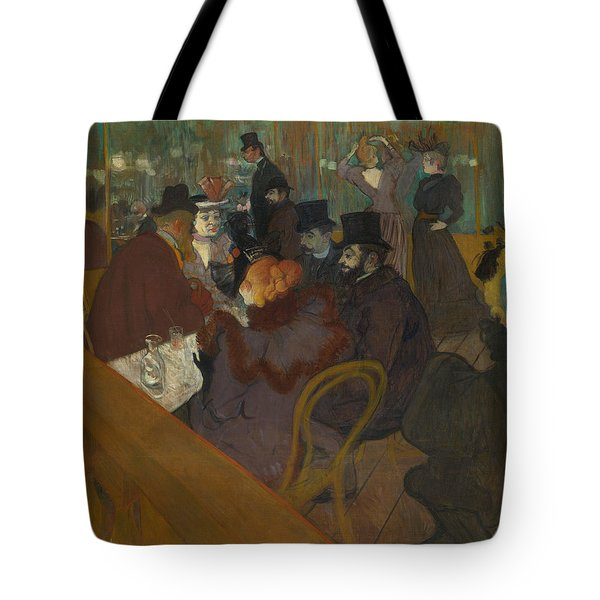 At The Moulin Rouge Tote Bag