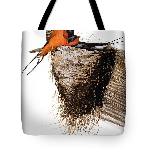 Audubon: Swallow Tote Bag by Granger