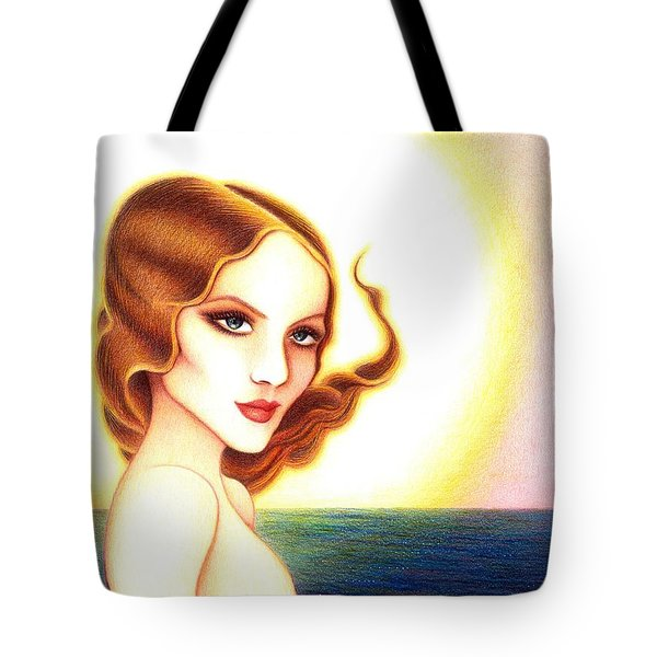 August Honey Tote Bag