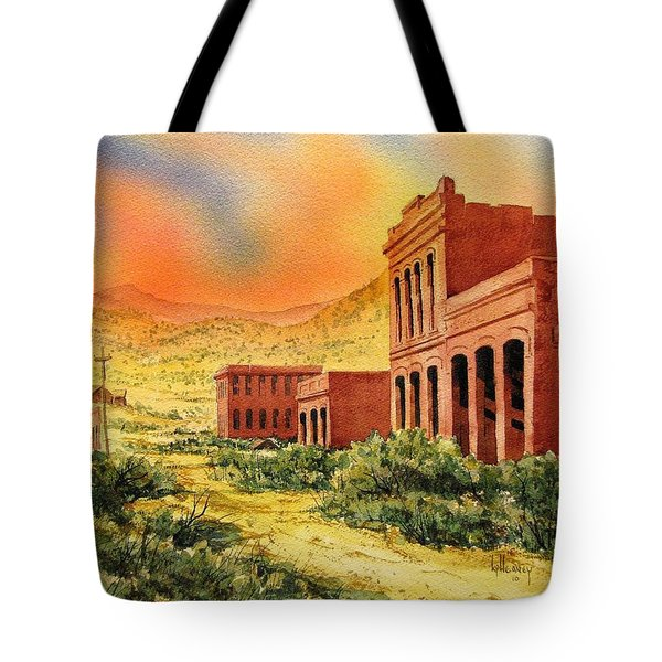 Aurora Ghost Town Nevada Tote Bag by Kevin Heaney