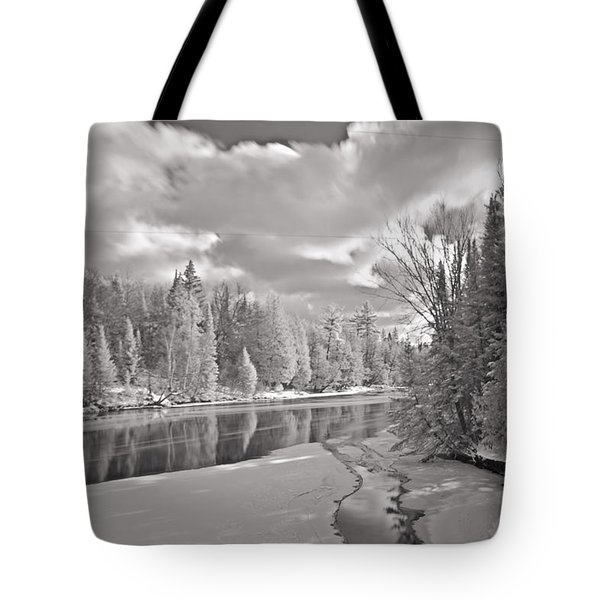 Ausable River Infrared 6283 Tote Bag