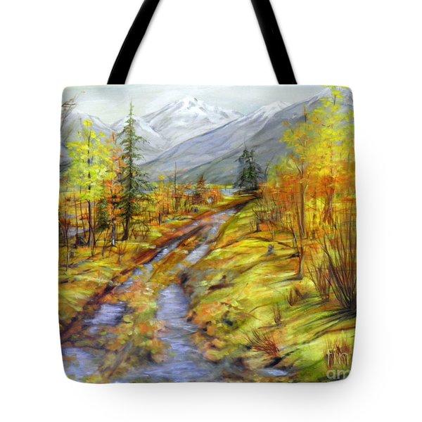 Autumn At The Estuary  Tote Bag