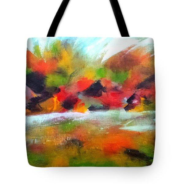 Autumn Blaze Tote Bag