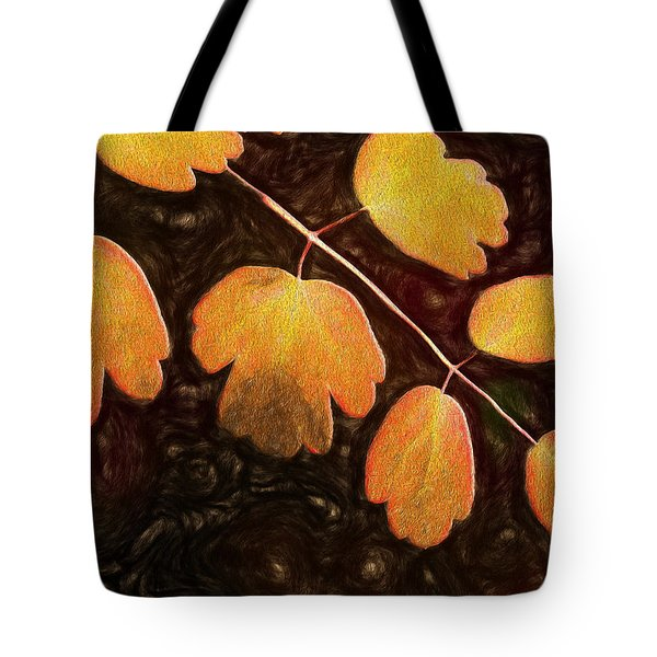 Tote Bag featuring the photograph Autumn Breeze by Paul Wear