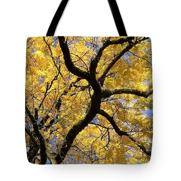 Autumn Gold Tote Bag