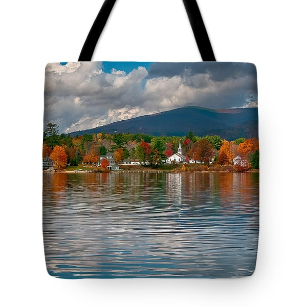Autumn In Melvin Village Tote Bag