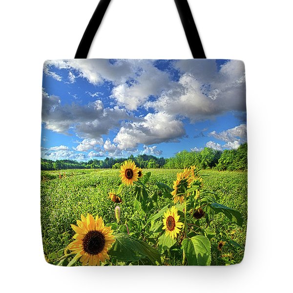 Autumn Is Near Tote Bag