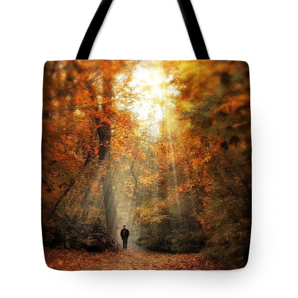 Autumn Meditation Tote Bag by Jessica Jenney