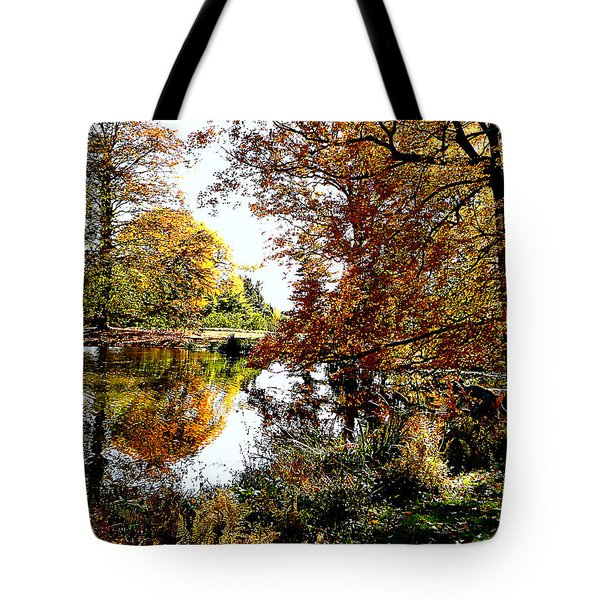 Autumn Reflections Tote Bag by Susan Savad