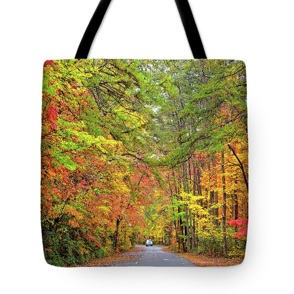 Autumn Travel Tote Bag