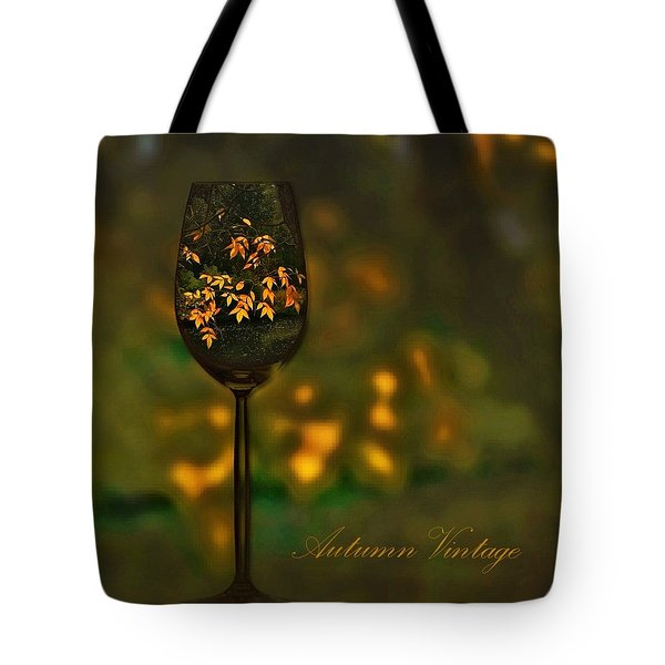 Autumn Vintage Tote Bag
