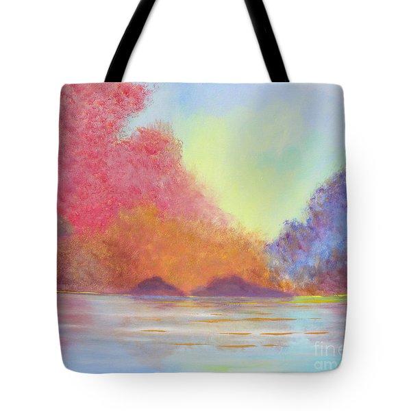 Autumn's Aura Tote Bag