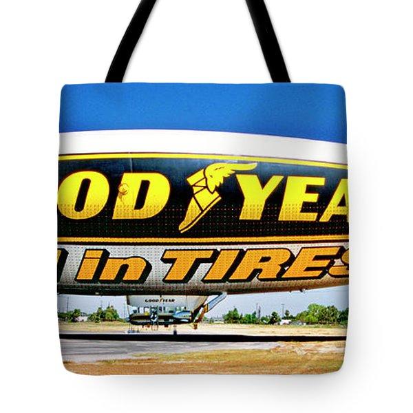 My Goodyear Blimp Ride Tote Bag