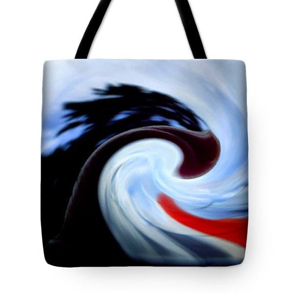 Awakening Tote Bag by Mike Breau