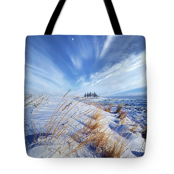 Tote Bag featuring the photograph Azure by Phil Koch