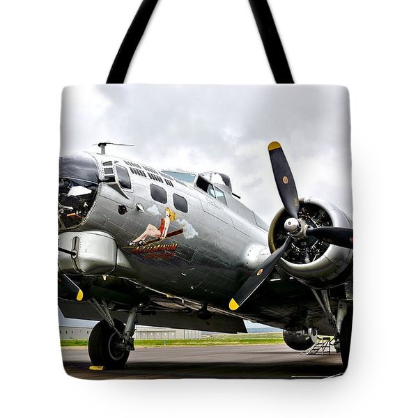 B-17 Bomber Airplane  Tote Bag