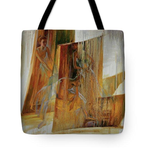 Ba-ll-et Tote Bag
