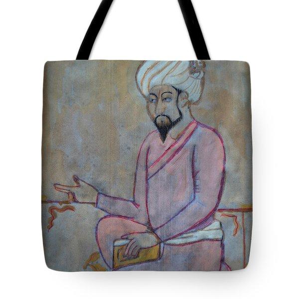 Babur Tote Bag by Vikram Singh