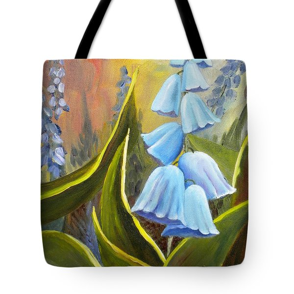 Baby Blues Tote Bag by Renate Nadi Wesley