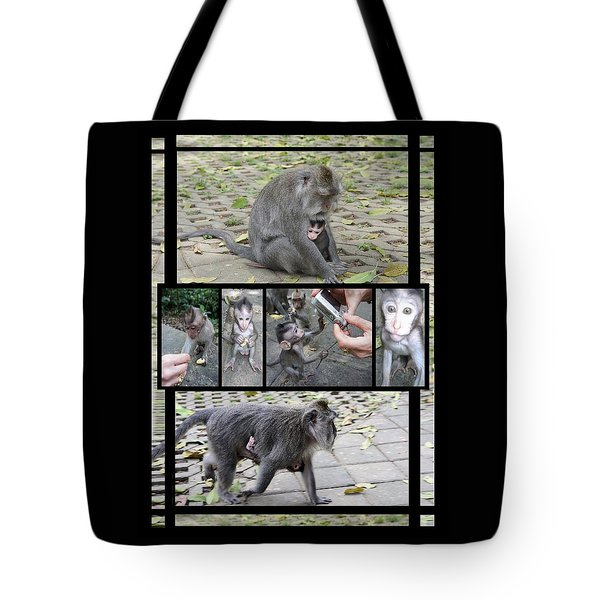Baby Monkey- New Friend Tote Bag